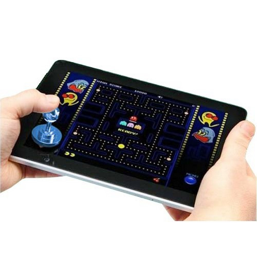 aparato joystick-it arcade game para ipad palillo verde