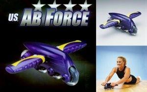 aparato para desarrollar ejercicios fisicos ab-force