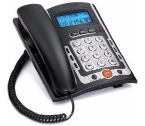 aparato telefonico altavoz identificador llamadas candado