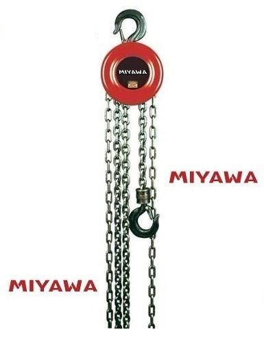 aparejo a cadena manual 1 ton 1000kg 3mts miyawa