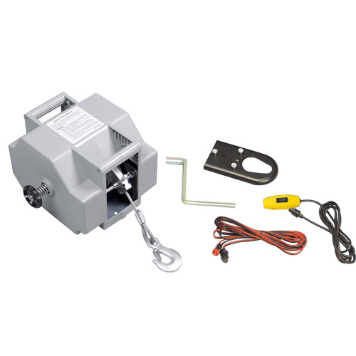 aparejo eléctrico 12v alzada 9 m 4082 kg 0,6 hp cable 5,6 mm