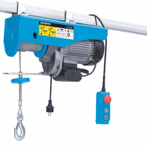 aparejo electrico 250 a 500kg cable acero 11mt gamma g2307