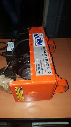 aparejo electrico de 125/250