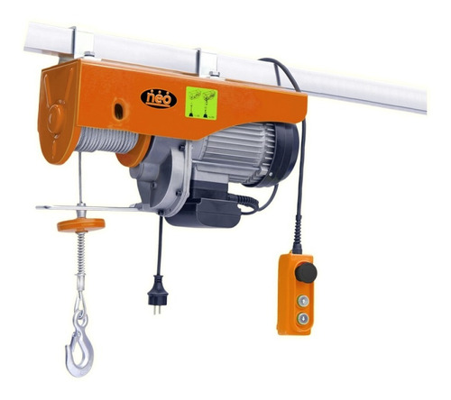 aparejo eléctrico industrial 1000kg 12m altu max neo ap91000