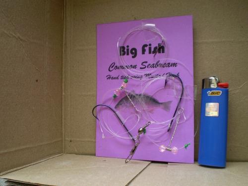aparejo pargo/besugo variada  señuelo pesca penn reel