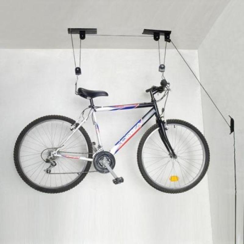 Aparejo Soporte Para Colgar Bicicleta Del Techo 72900 En - Colgar-bici-techo
