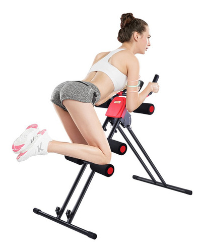 aparelho abdominal fitness 4 níveis com monitor digital acte