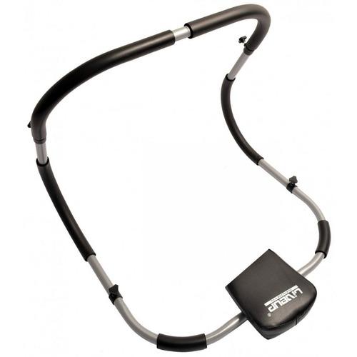 aparelho abdominal portatil dobrável em aço exercício liveup