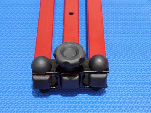aparelho abertura pernas aumento de flexibilidade vermelho espacate lateral ballet dança pole dance pilates mma kung fu