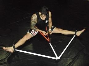 aparelho abertura pernas,karatê,muay thay,kung fu, jiu jitsu