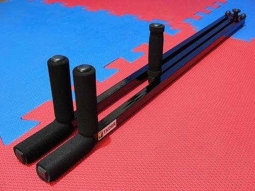 aparelho alongamento e abertura de pernas p/ artes marciais