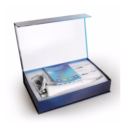 aparelho alta frequência portátil limpeza pele 4 eletrodos