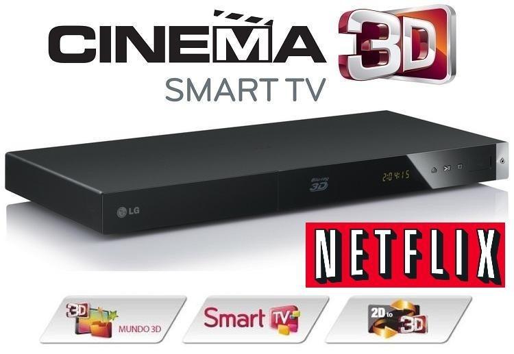 Aparelho Blu-ray 3d Lg Bp420 Completo Netflix Qualquer Tv D