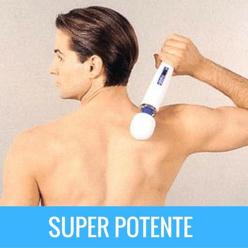 aparelho branco massagem elétrico magic vibro 110v 220v