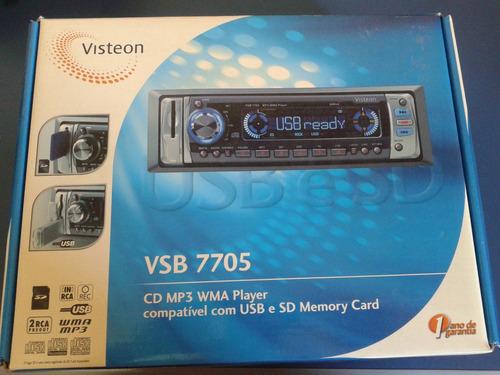 aparelho cd player visteon vsb 7705 (original gm)