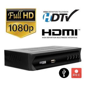 Aparelho Conversor Para Tv Sinal Digital  Set Top Full Hd
