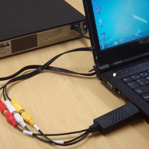 aparelho converter fita vhs p/ dvd easycap - frete grátis