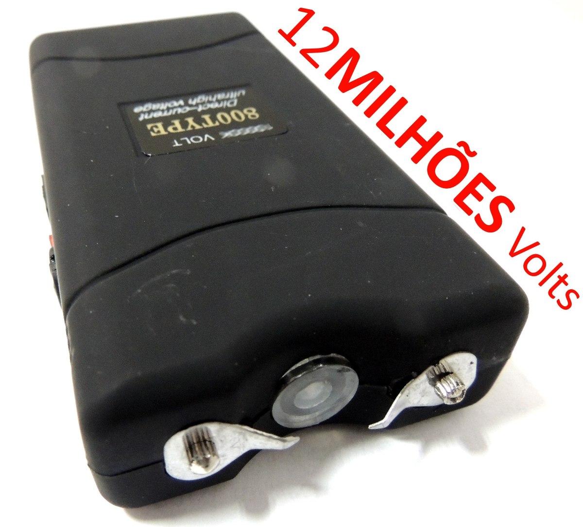 Aparelho De Choque Máquina Taser 12000kv Recarregável R$ 42 99 em  #C30C08 1200x1084