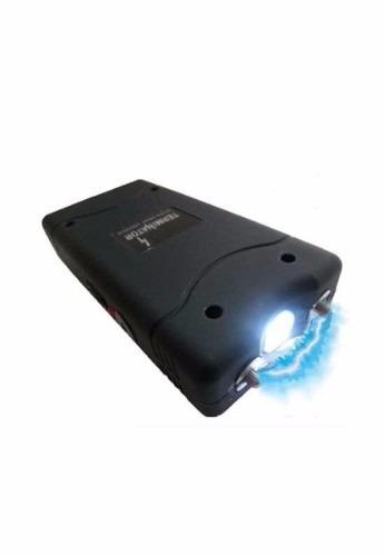 aparelho de choque máquina taser recarregável c/ lanterna