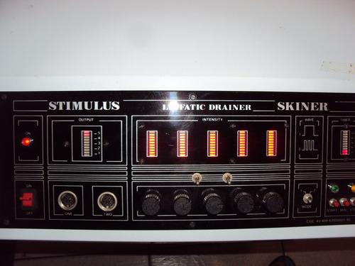 aparelho de estetica /stimulus linfatic draner skiner