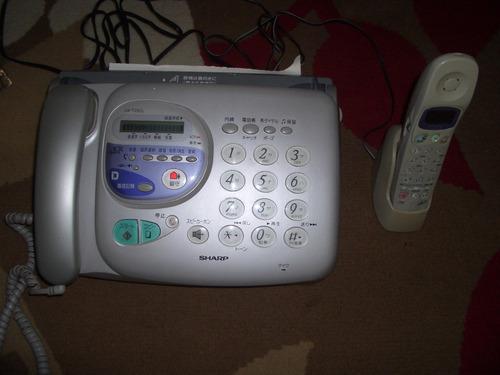 aparelho de fax sharp com ramal (importado)