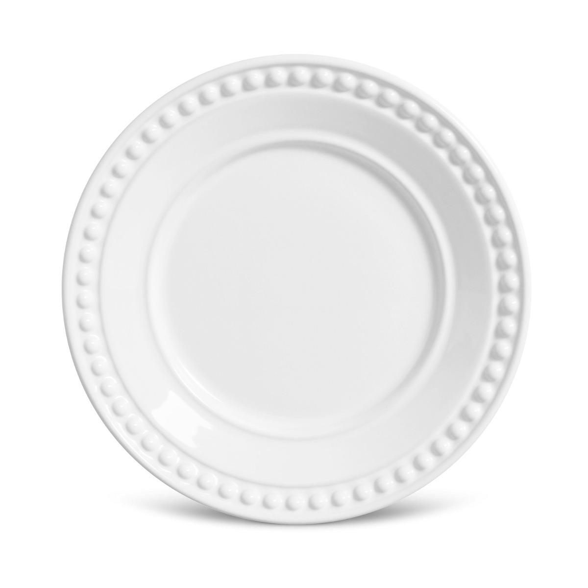Aparelho De Jantar 30 Peças Atenas Branco Frete Grátis R 59999