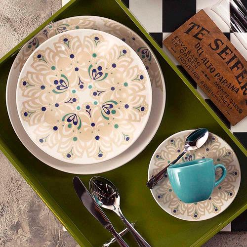 aparelho de jantar chá e café 42 peças oxford coup lindy hop