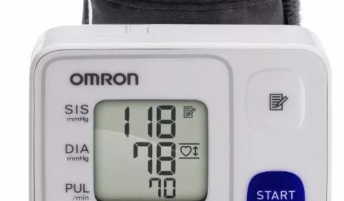 fca108cbc Aparelho De Pressão Arterial De Pulso Omron Hem 6123 Novo - R  138 ...