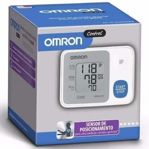 8ffc43c4b Aparelho De Pressão Digital Auto Pulso Omron Hem-6124 - R  154