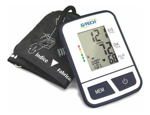 aparelho de pressão digital automático de braço g-tech bsp11