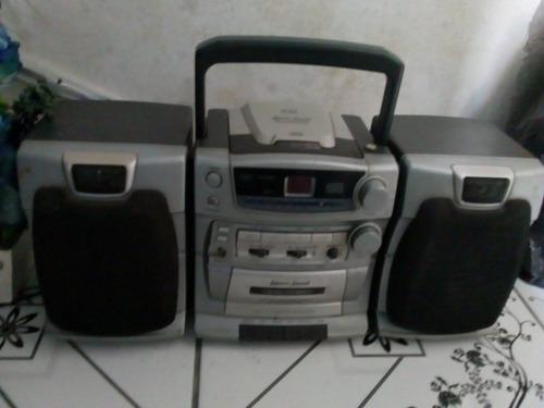 aparelho de som com radio am e fm