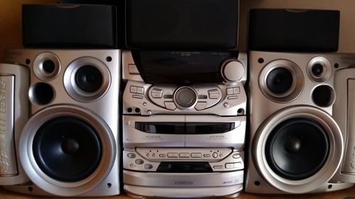 aparelho de som kenwood - mini hifi component system xd-951
