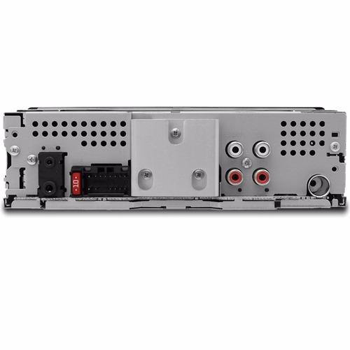 aparelho de som pioneer mvh-x30br com controle e bluetooth