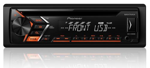 aparelho de som toca cd/usb/aux pioneer deh-s1080ub