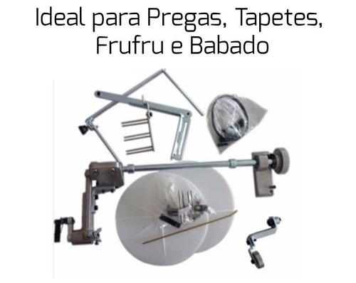 aparelho de tapete fru fru reta industrial pregas franzidos