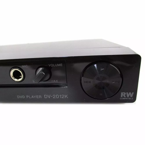 aparelho dvd/cd mp3 c entrada usb e karaoke dv-2012k pioneer