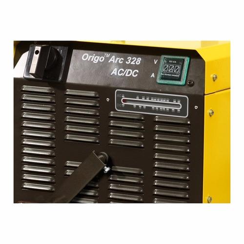 aparelho e retificadora solda esab origo arc- 328