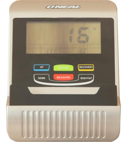 aparelho elíptico magnético oneal c suporte tablet e monitor