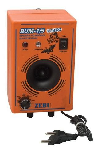 aparelho espanta ratos, morcegos e gambás rum turbo 150m²