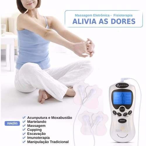 aparelho fisioterapia acupuntura tens & fes portatil