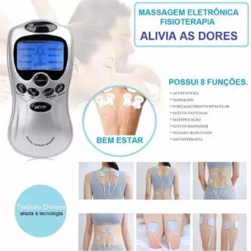 aparelho fisioterapia massagem prático tratamento choque