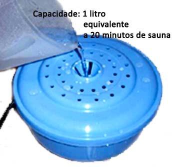 aparelho gerador de vapor sjs para sauna residencial