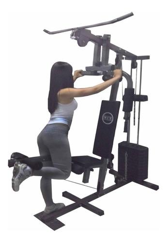 aparelho ginástica estação musculação