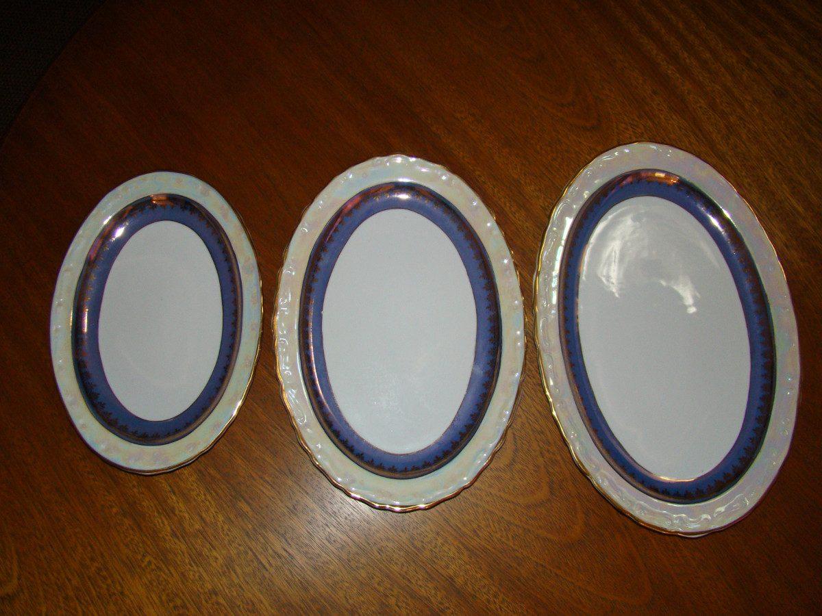 Aparelho Jantar Década De 50 Em Porcellana Mauá (42 Peças) R$ 3  #381908 1200x900