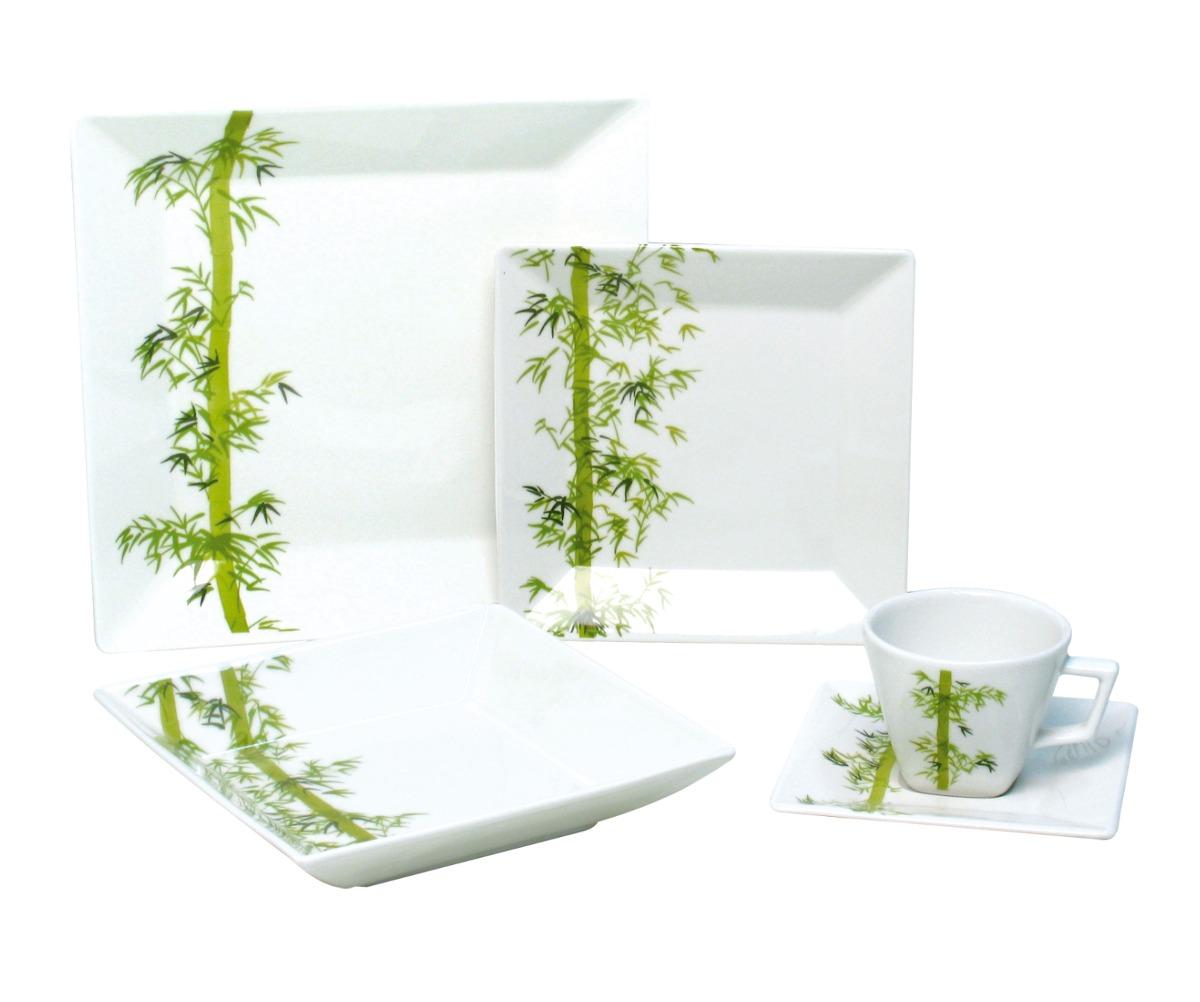 Aparador Barato Vintage ~ Aparelho Jantar Quadrado Porcelana Quartier 20pc Oxford R$ 359,90 em Mercado Livre