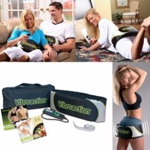 aparelho massageador vibroaction cinta vibratória abdominal