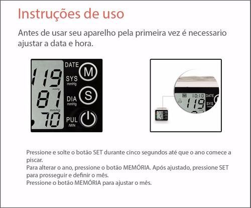 aparelho medidor de pressão digital automático pulso