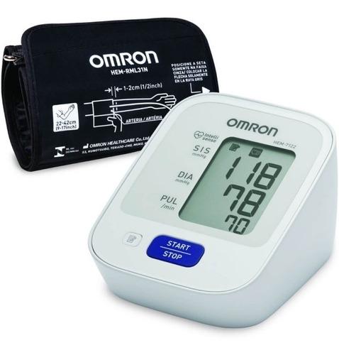 aparelho medidor de pressão digital de braço hem-7122 omron