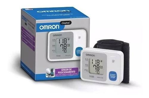 aparelho medidor de pressão digital pulso hem 6124 - omron