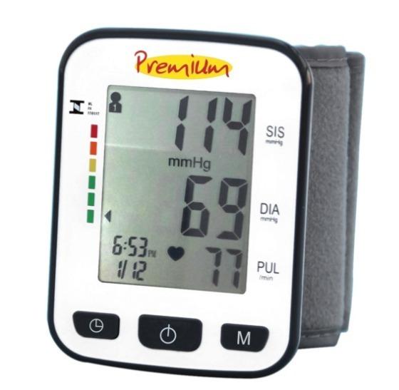 923d9fa4d Aparelho Medidor De Pressão Digital Pulso Premium - Bsp21 - R  89
